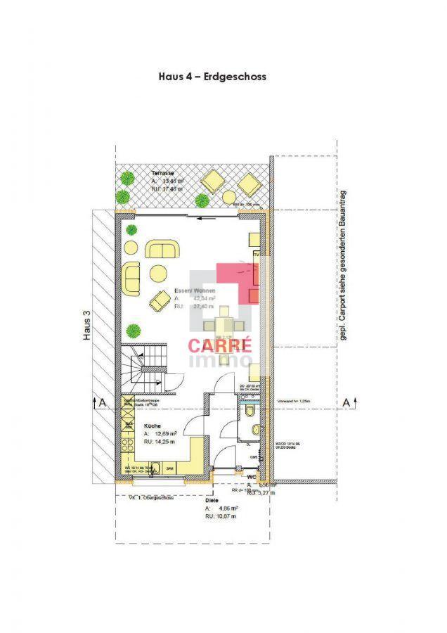 reihenhaus kaufen 4 schlafzimmer 175.38 m² dudelange foto 2