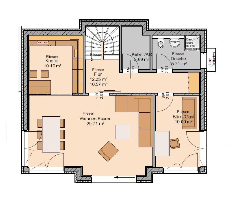 haus kaufen 5 zimmer 132 m² klüsserath foto 4