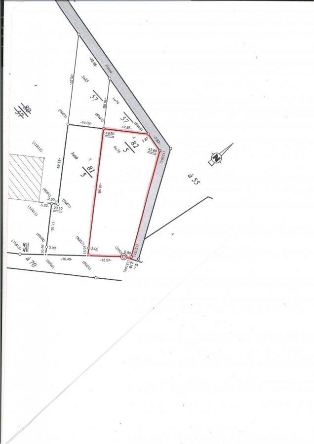Terrain constructible à vendre à Sanry sur nied