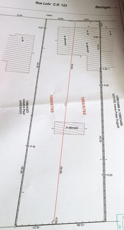 Terrain constructible à vendre à Mersch