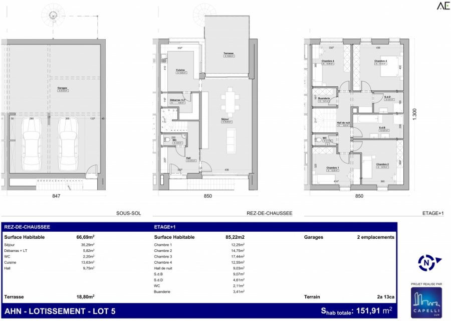 house for buy 4 bedrooms 151.91 m² ahn photo 3