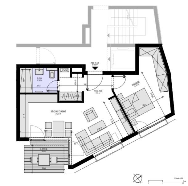 apartment for buy 1 bedroom 62.7 m² luxembourg photo 3