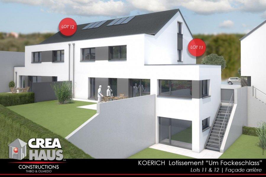 Reihenhaus Kaufen 3 Schlafzimmer 170 M² Koerich Foto 1