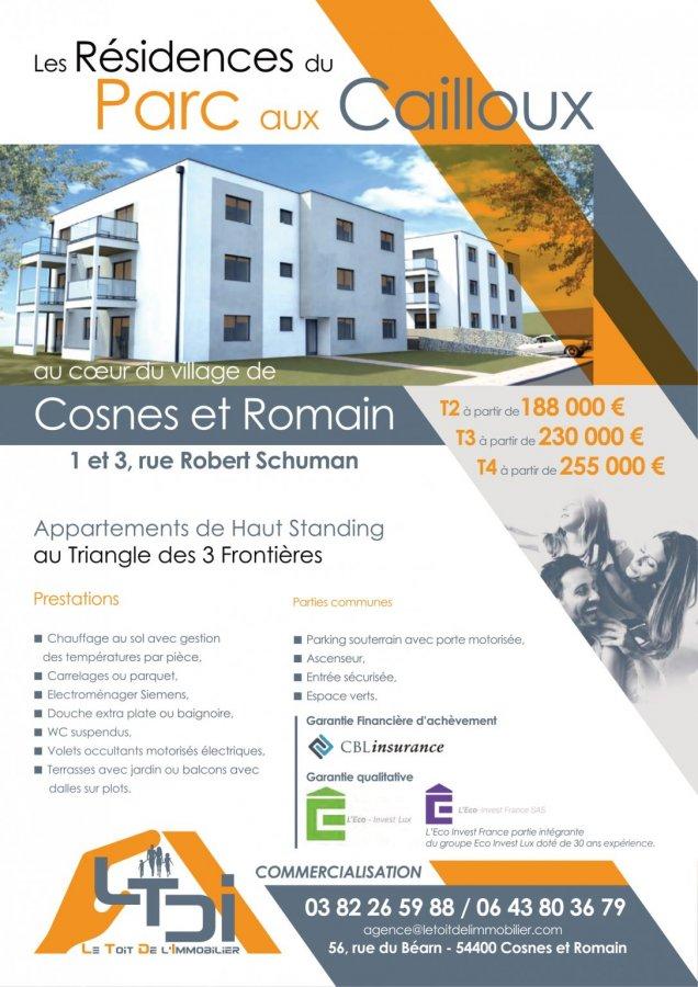 acheter appartement 4 pièces 73.24 m² cosnes-et-romain photo 3
