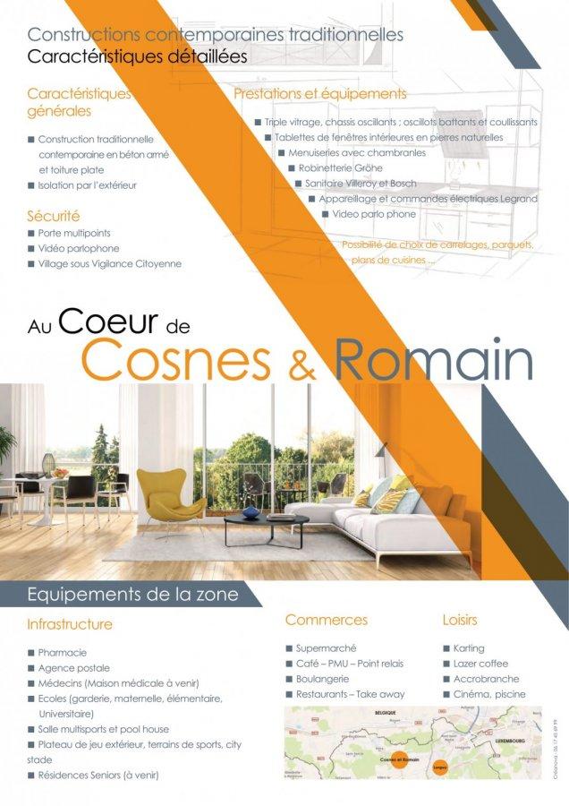 acheter appartement 4 pièces 73.24 m² cosnes-et-romain photo 4