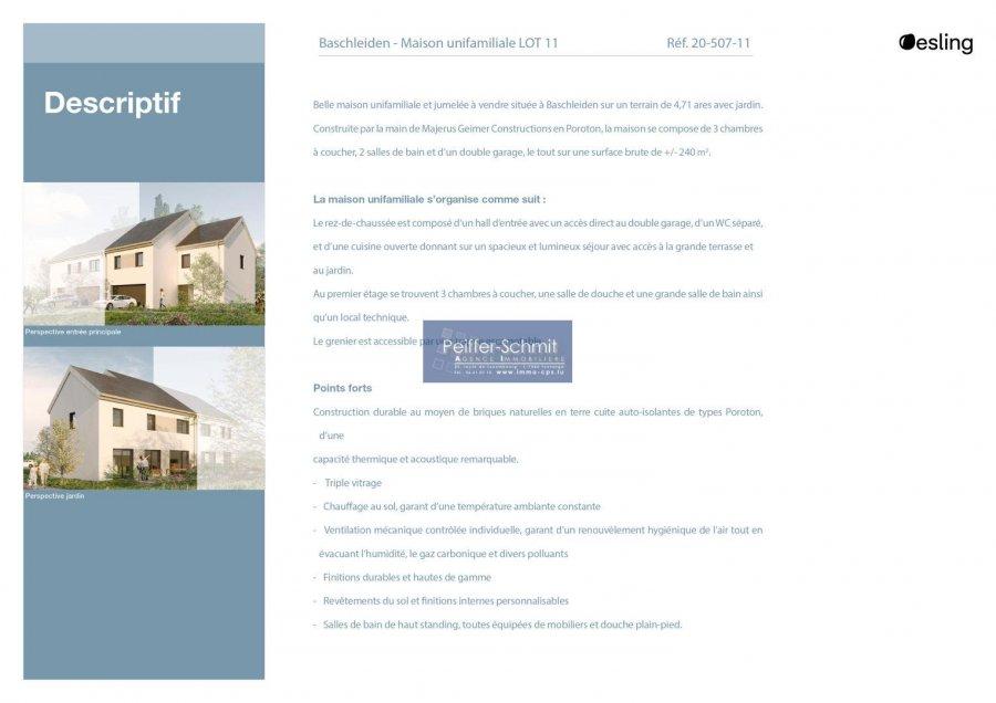 doppelhaushälfte kaufen 3 schlafzimmer 140 m² baschleiden foto 4