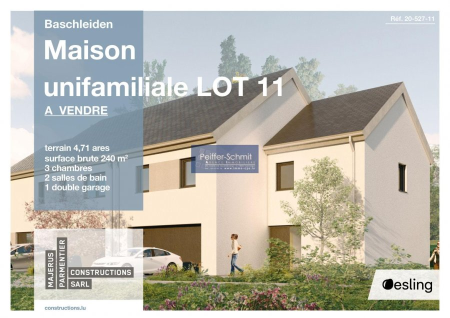 doppelhaushälfte kaufen 3 schlafzimmer 140 m² baschleiden foto 1