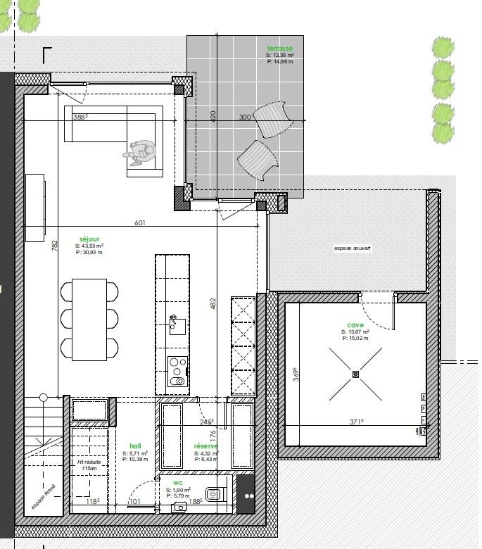 acheter maison jumelée 3 chambres 135 m² berbourg photo 4