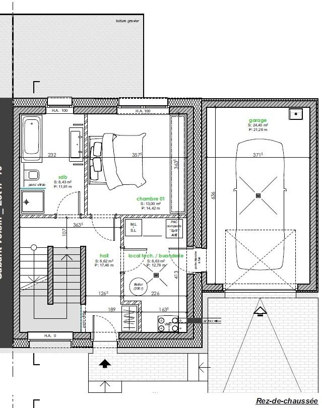 acheter maison jumelée 3 chambres 135 m² berbourg photo 5