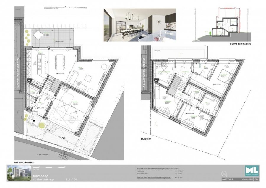 detached house for buy 3 bedrooms 175 m² moesdorf photo 3