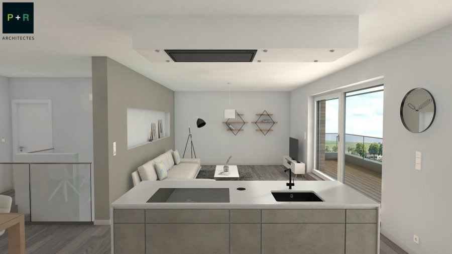acheter duplex 3 chambres 121.14 m² capellen photo 5