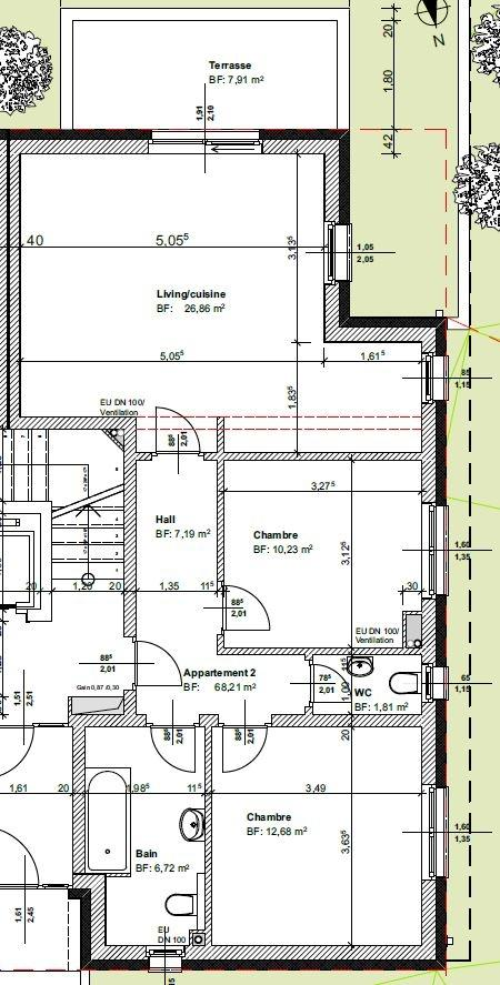 acheter appartement 2 chambres 68.21 m² lieler photo 2