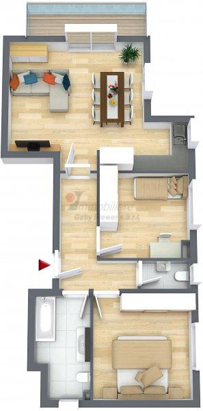 acheter appartement 2 chambres 68.21 m² lieler photo 1