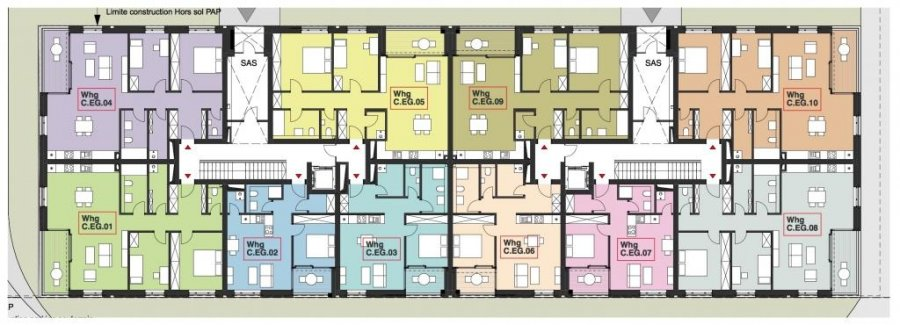 wohnung kaufen 2 schlafzimmer 91.87 m² wasserbillig foto 2
