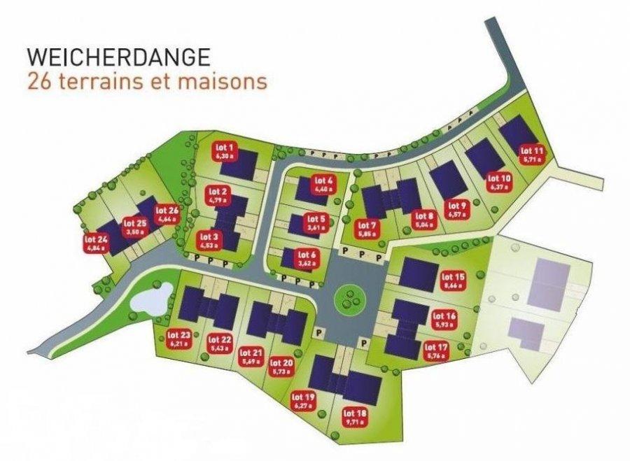 acheter terrain constructible 3 chambres 0 m² weicherdange photo 2