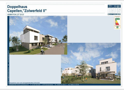 Semi-detached house for sale 6 bedrooms in Capellen (LU) - Ref. 6922517