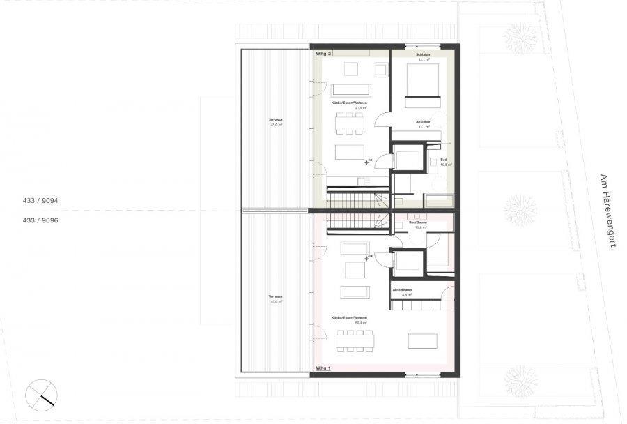 acheter penthouse 2 chambres 145 m² wasserbillig photo 6