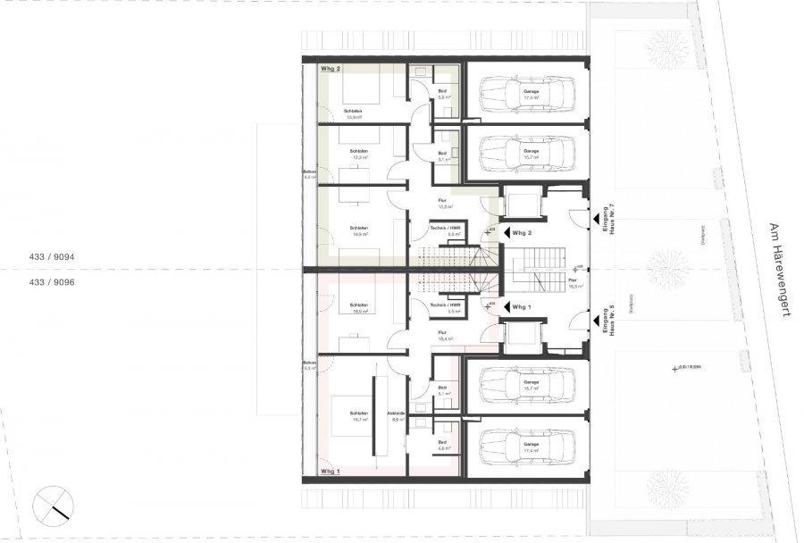 acheter penthouse 2 chambres 145 m² wasserbillig photo 7