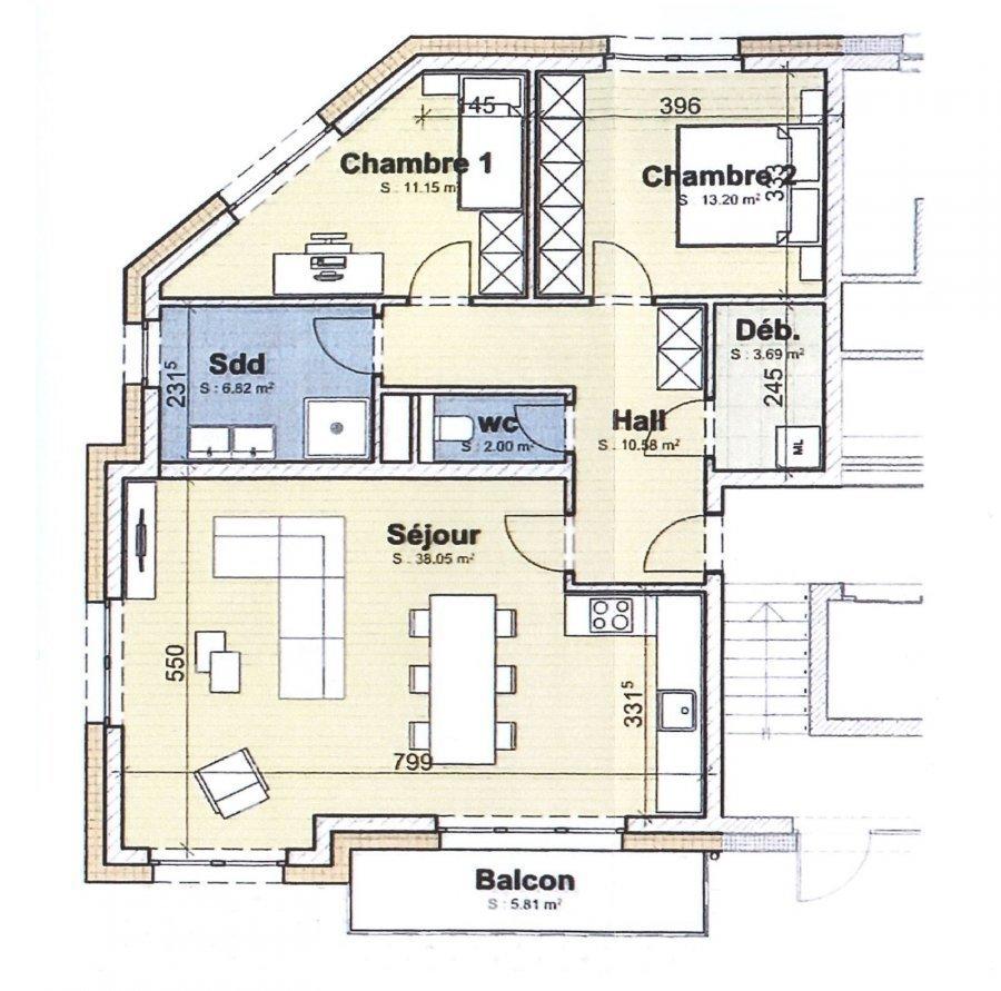 Appartement à vendre 2 chambres à Boevange-sur-Attert