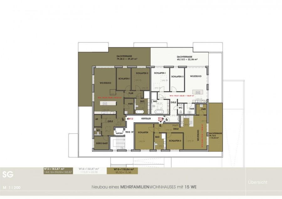 penthouse-wohnung kaufen 3 zimmer 132.87 m² temmels foto 4