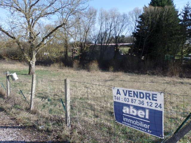 Terrain constructible à vendre à Ebersviller