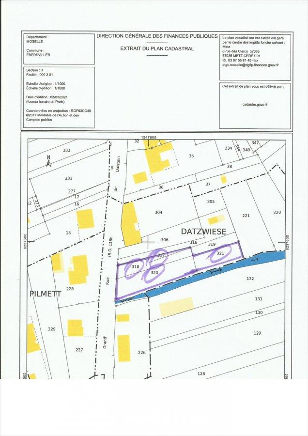 acheter terrain constructible 0 pièce 0 m² ébersviller photo 3