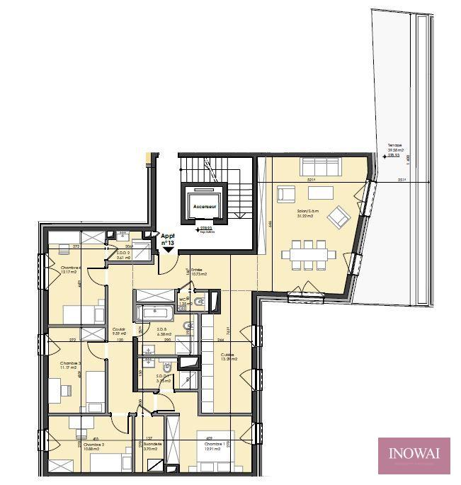 apartment for buy 4 bedrooms 139 m² berchem photo 2