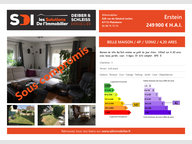 Maison à vendre F4 à Erstein - Réf. 5321253