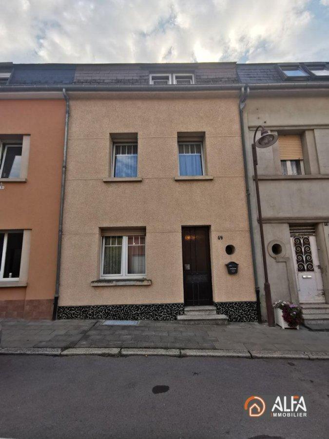 acheter maison mitoyenne 4 chambres 110 m² pétange photo 1