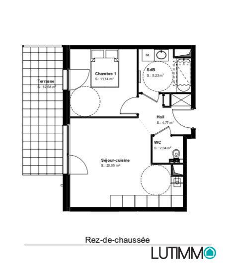 acheter appartement 2 pièces 44 m² hésingue photo 2
