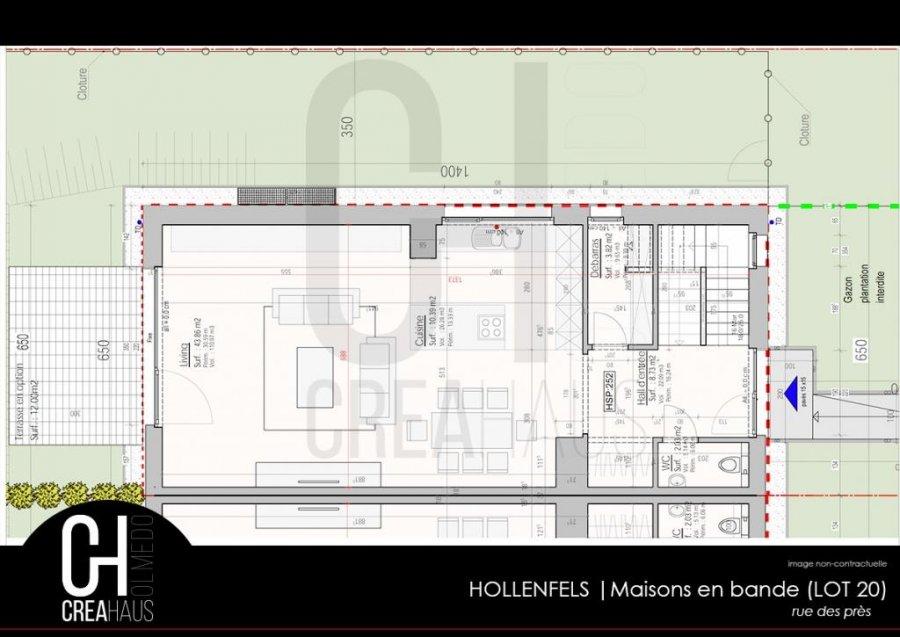 acheter maison jumelée 3 chambres 135.32 m² hollenfels photo 4