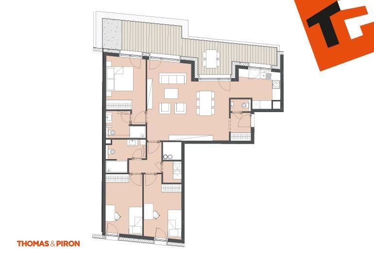 acheter appartement 3 chambres 100.34 m² schifflange photo 3