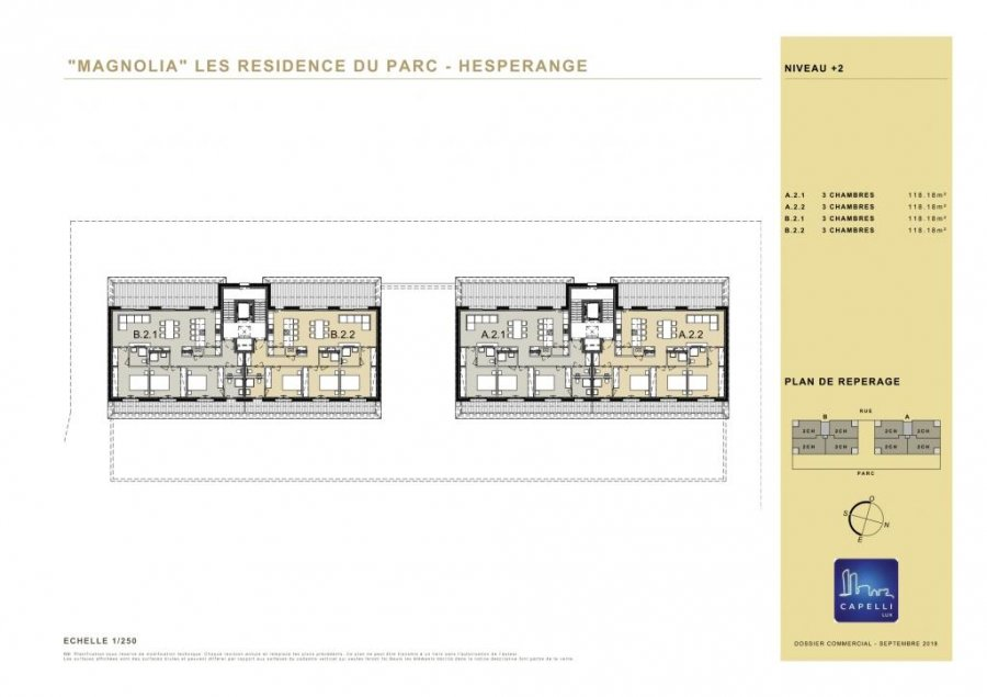 penthouse-wohnung kaufen 3 schlafzimmer 118.18 m² hesperange foto 6