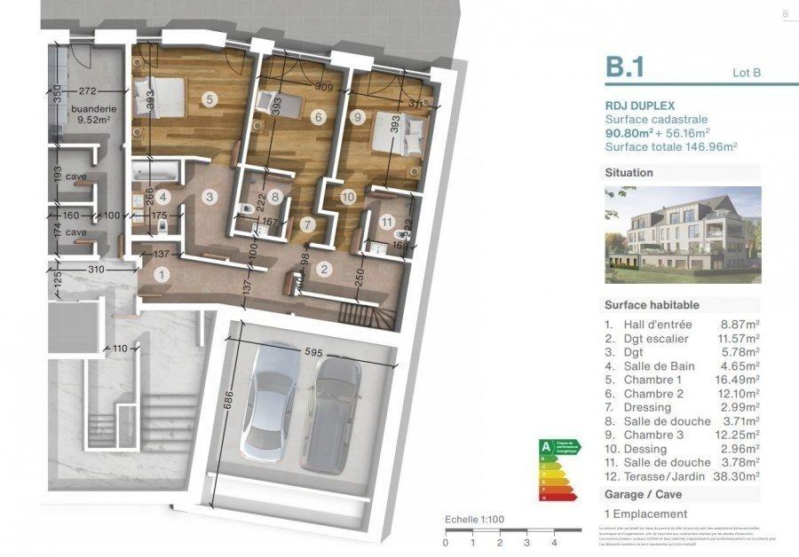 acheter duplex 3 chambres 146.96 m² luxembourg photo 3