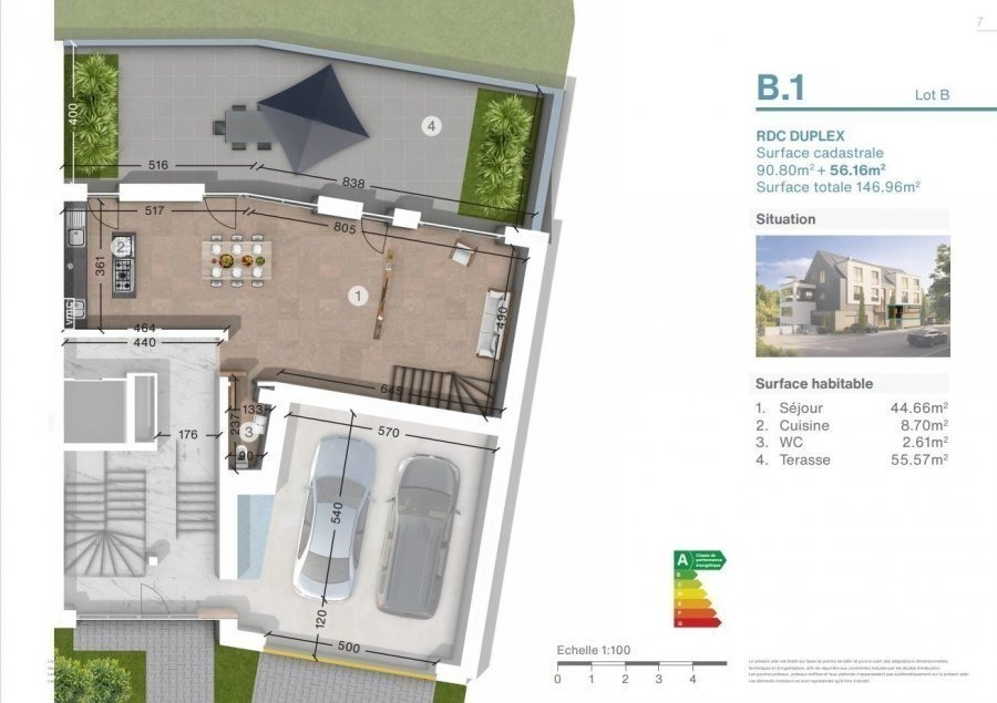 acheter duplex 3 chambres 146.96 m² luxembourg photo 4