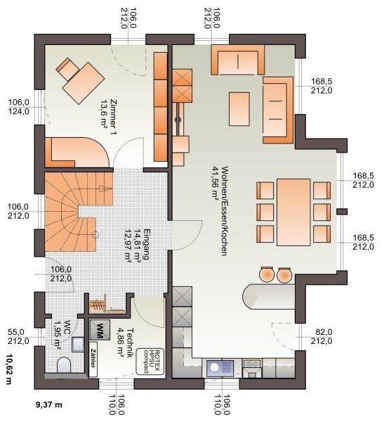 einfamilienhaus kaufen 3 schlafzimmer 149 m² echternach foto 3