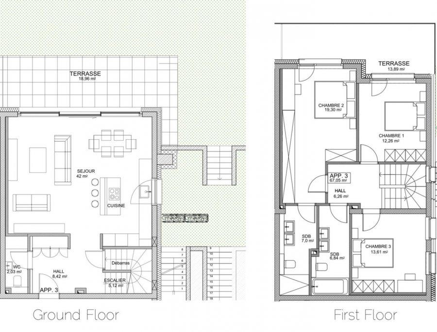 wohnung mieten 3 schlafzimmer 145 m² luxembourg foto 4