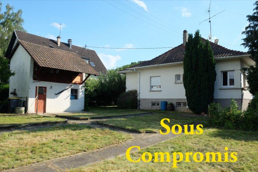 Maison individuelle à vendre F5 à Zillisheim
