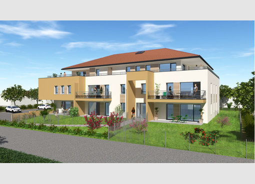 Neuf appartement f3 metz moselle r f 5560629 for Appartement f3 neuf