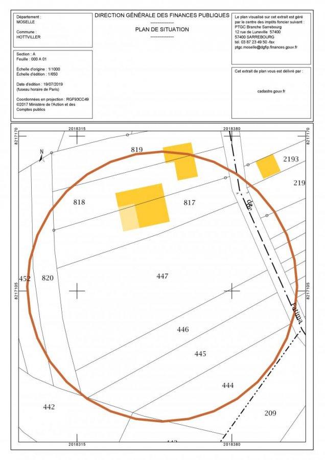 Terrain constructible à vendre à Hottviller