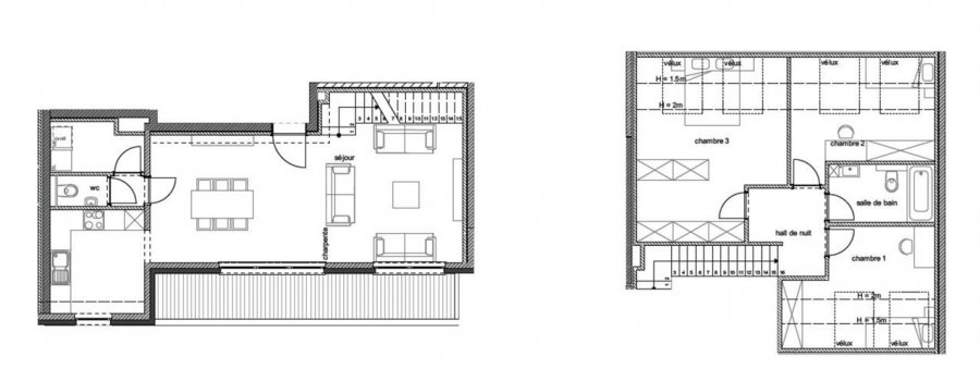 acheter duplex 3 pièces 128 m² arlon photo 2