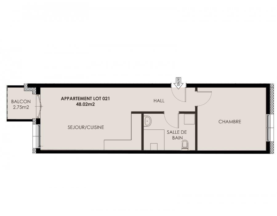 Appartement à vendre 1 chambre à Kayl