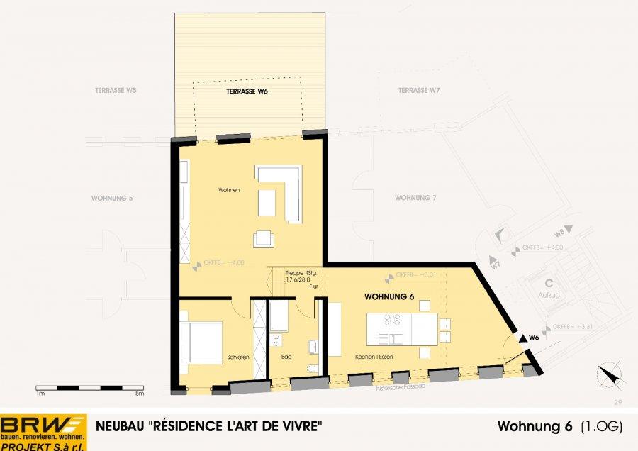 wohnung kaufen 1 schlafzimmer 127.17 m² echternach foto 2