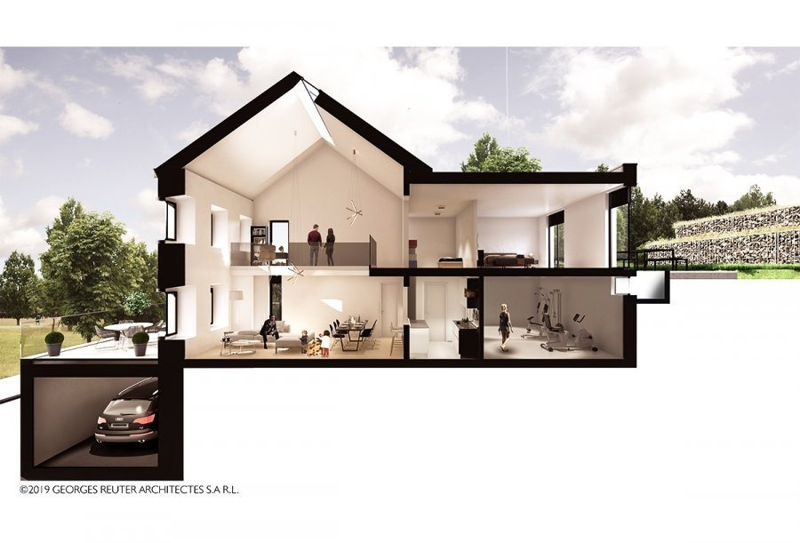 acheter maison individuelle 2 chambres 113.74 m² senningen photo 2