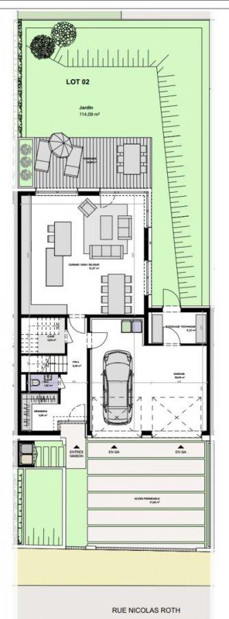 acheter maison jumelée 3 chambres 196 m² hautcharage photo 4