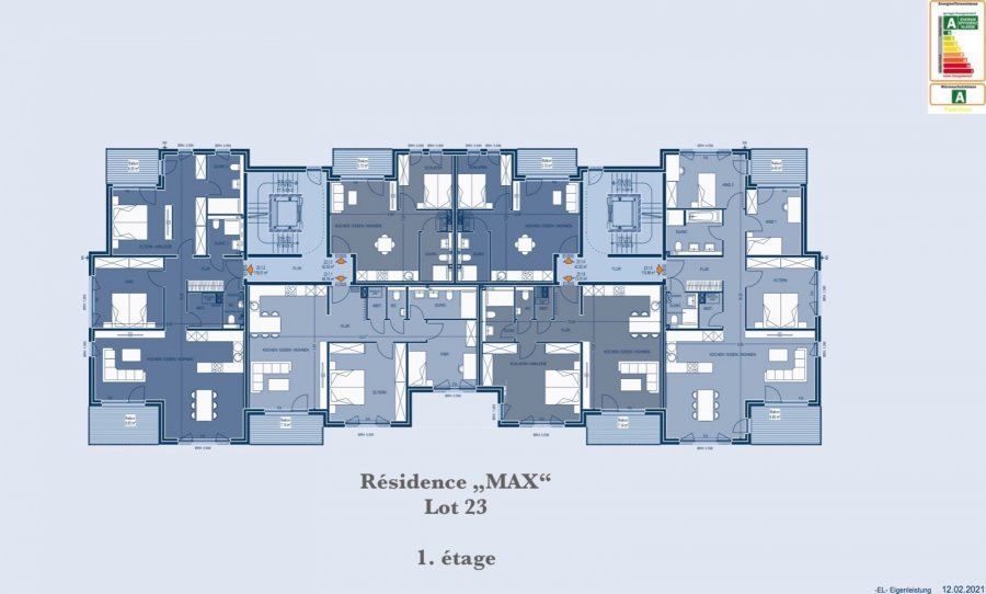 apartment for buy 2 bedrooms 89.87 m² bertrange photo 7