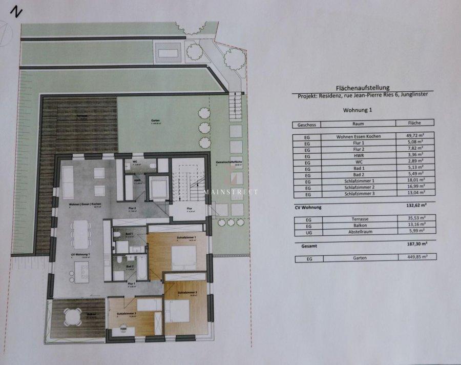 acheter appartement 3 chambres 187 m² junglinster photo 3