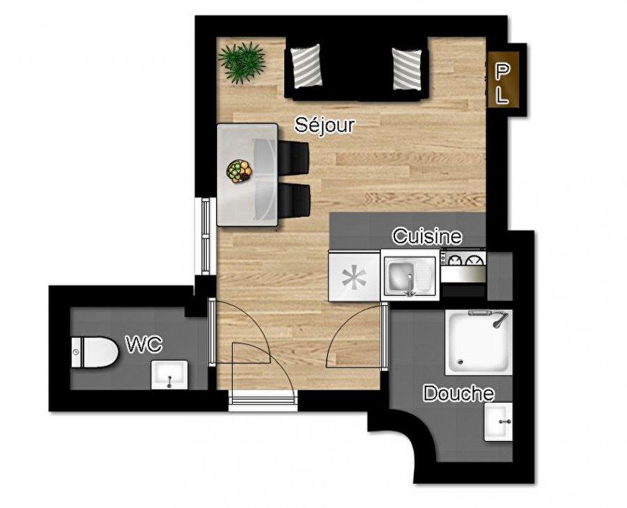louer appartement 1 pièce 16 m² metz photo 7