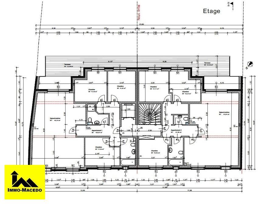 acheter appartement 3 chambres 103.97 m² bissen photo 4