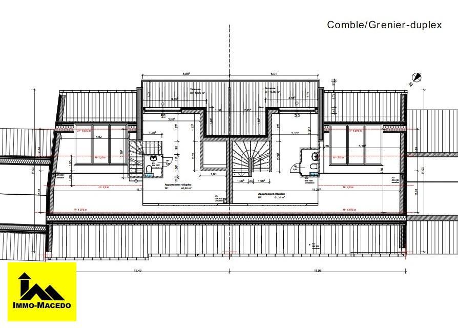 acheter appartement 3 chambres 103.97 m² bissen photo 6